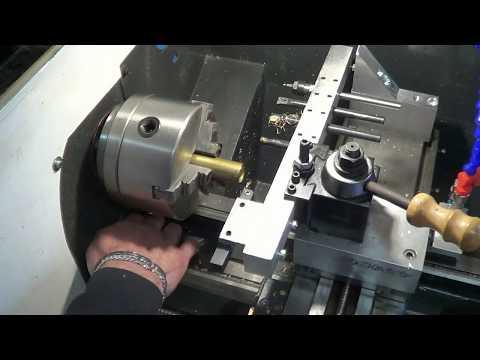 *mkds* home made cnc lathe auto tools test.