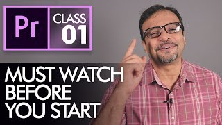 Before you Start Leaŗning Adobe Premiere Pro CC Class 1 - Urdu / Hindi