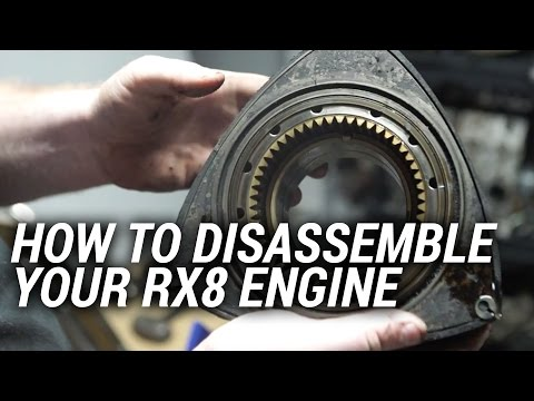 RX8 Engine Teardown What To Look For