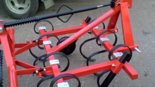 Sprzedaż używanych mini traktorków ciagników ogrodniczych- Kultywator. www.traktorki.waw.pl