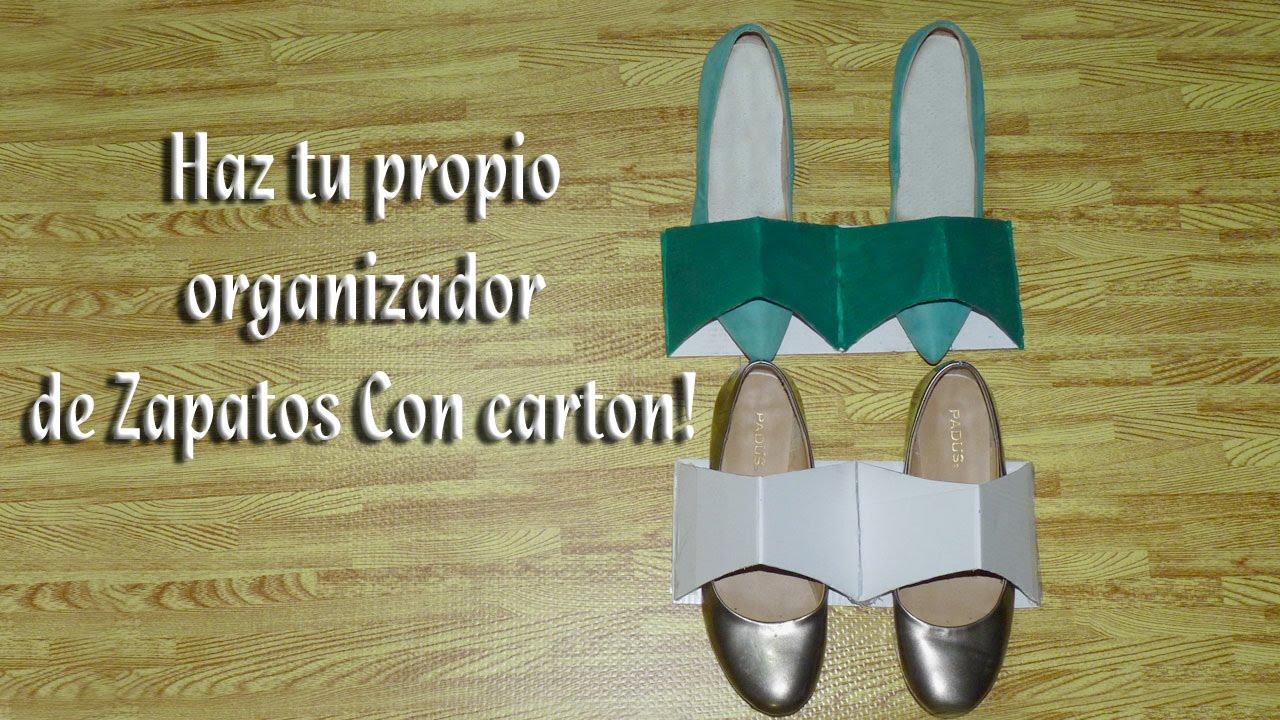 Como hacer un sujetador u organizador de zapatos youtube - Organizador de zapatos ...