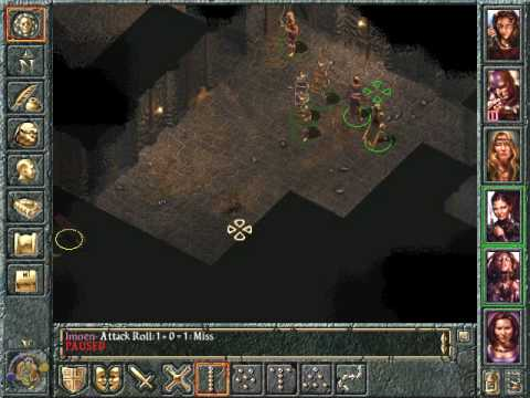 Let's Play Baldur's Gate 297 Ulcaster Ruins |