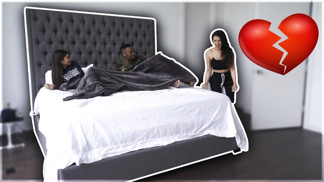 Caught Cheating In Bed With Girlfriend S Bestfriend Prank