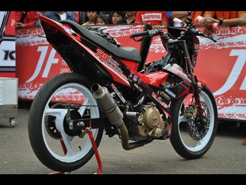 Motor Trend Modifikasi | Video Modifikasi Motor Suzuki Satria FU Road Race Terbaru
