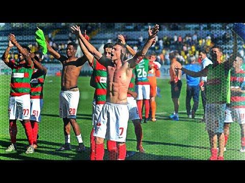 Momento - C.S. Marítimo e adeptos saúdam-se no final do jogo