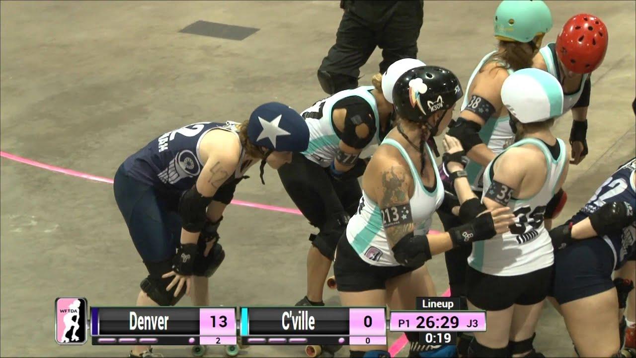 Roller skating denver - Wftda Roller Derby D1 Jacksonville Denver Vs Charlottesville