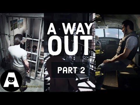 LIRIK | A WAY OUT Full CO-OP Playthrough - Part 2