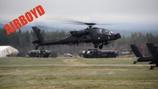 AH-64 Apache Helicopter Formation Flight Training