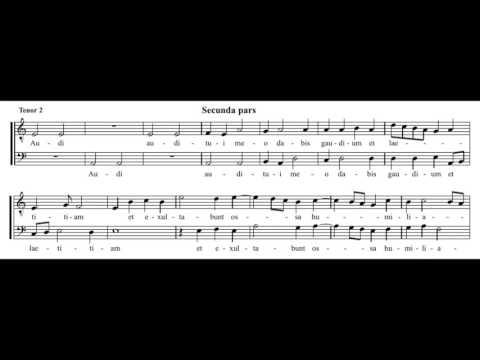 Josquin: Miserere mei Deus - Weser-Renaissance