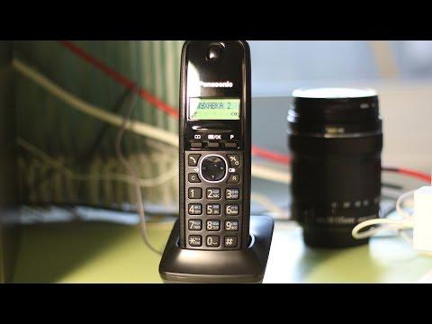 РАДИОТЕЛЕФОН Panasonic KX-TG1612UAH  2 ТРУБКИ ЯПОНСКОГО КАЧЕСТВА / РАСПАКОВКА KX-TG1612