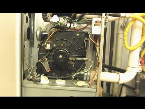 Lennox furnace draft inducer motor replacement hostzin for Lennox furnace blower motor noise