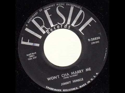 Jimmy Hinkle - Wont Cha Marry Me (1957)
