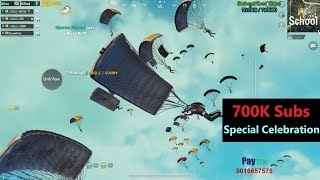[Hindi] PUBG Mobile | 700k Subs Special Celebration With Subscribers