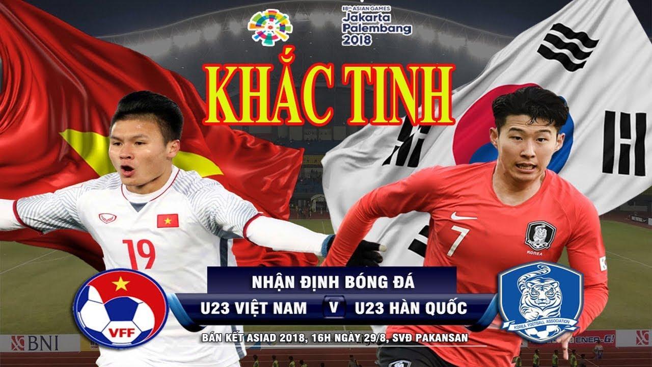 Trực tiếp bóng đá ASIAD U23 Việt Nam - U23 Hàn Quốc: Thầy Park gặp khắc tinh
