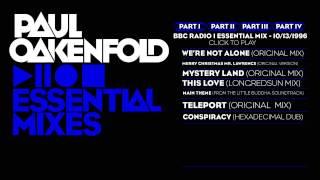 Paul Oakenfold Essential Mix: October 13, 1996 Part 1