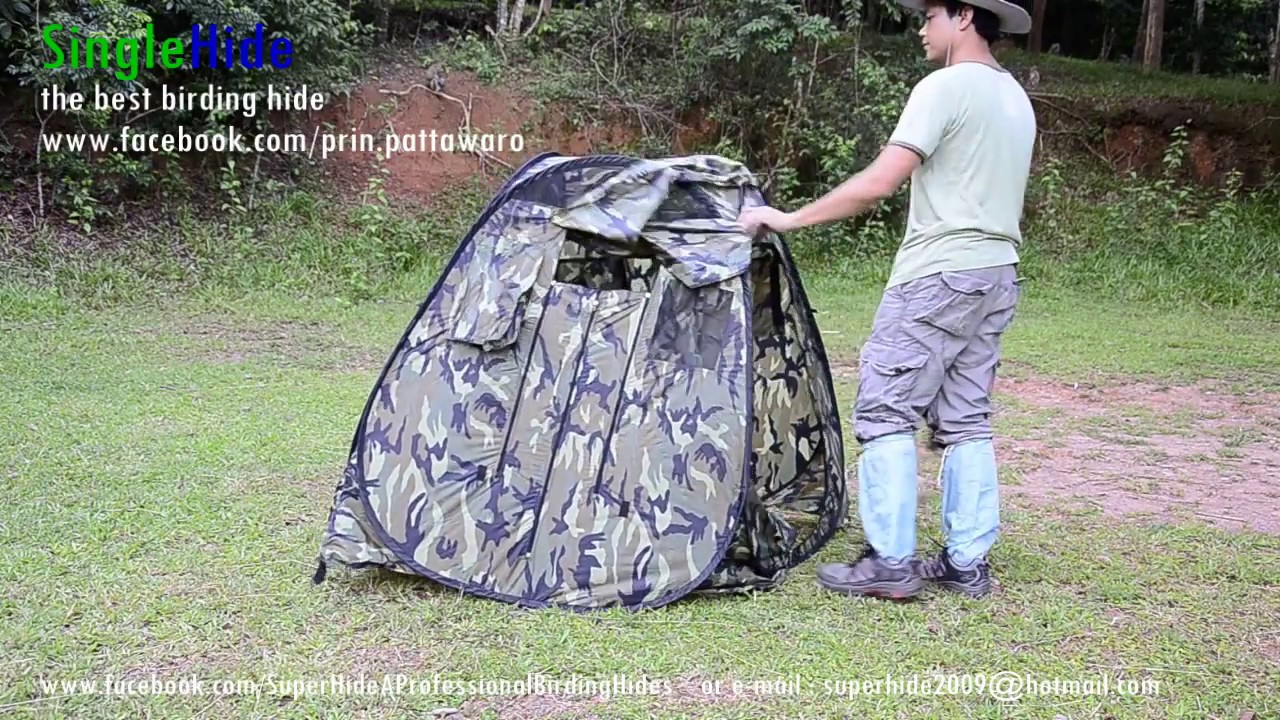 SingleHide The Best Birding Hide Blind For Wildlife And
