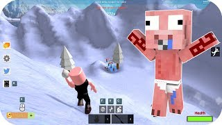 KÄMPFE MIT NIEVE BALLS - ROBLOX AENH SNOW BALL FIGHT SIMULATOR