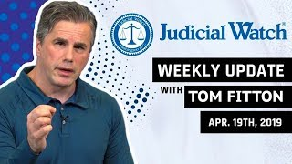 Tom Fitton: Mueller Report Confirms Russia Hoax, NEW Deep State Lawsuit, & More!