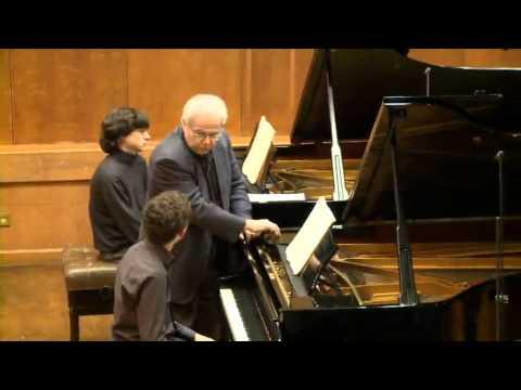 Masterclass with Emanuel Ax (Itai Navon, piano)