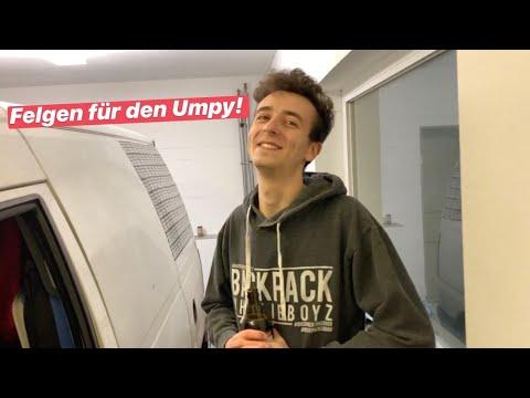 FELGEN FÜR DEN UMPY TEIL 1/3 | Citroen Jumpy 1.9D