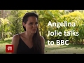 Angelina Jolie in converstion with BBC (BBC Hindi)