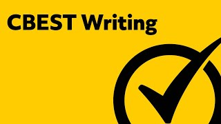 free cbest writing practice study guide