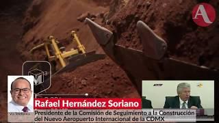Nuevo aeropuerto es un negocio, no una necesidad pública: Hernández Soriano