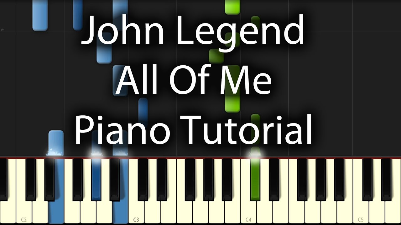 John legend all of me tutorial how to play on piano youtube john legend all of me tutorial how to play on piano hexwebz Images