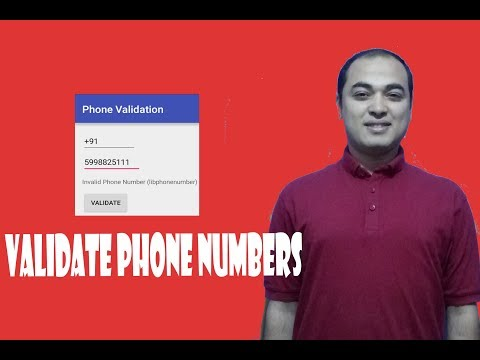 How To Validate Phone Number Using PHP