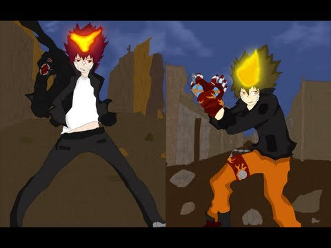 Fan Animation Tsuna Vs Enma Fight!