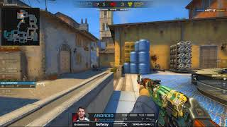 Complexity vs Space Soldier LONDON MAJOR 2018 CS:GO 1 Tap by android