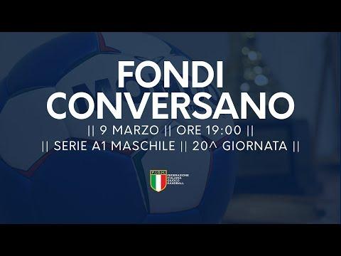 Serie A1M [20^]: Fondi - Conversano 28-30
