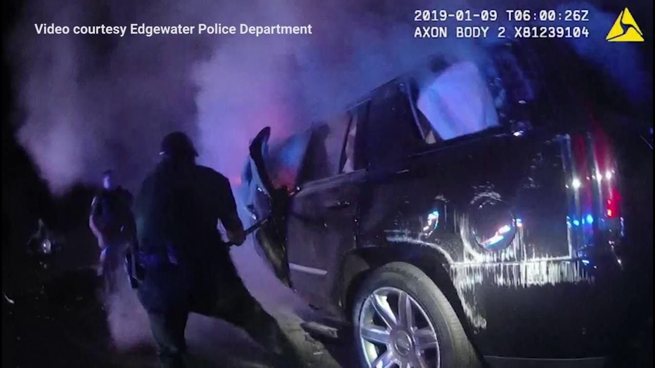 Officers, deputies describe fiery rescue at crash on I-95
