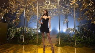 OMEGA launches Trésor in Berlin with Kaia Gerber