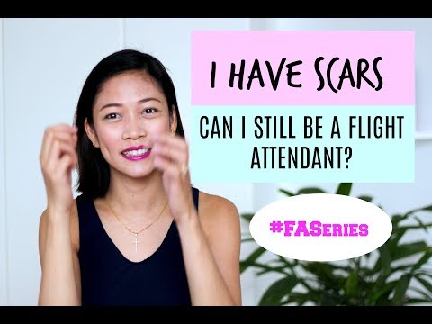I have Scars, Can I Still Be a Flight Attendant? |MISSKAYKRIZZ (Philippines)