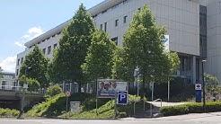Live - Beim warten auf meine Frau in Tübingen vor BG Klinik
