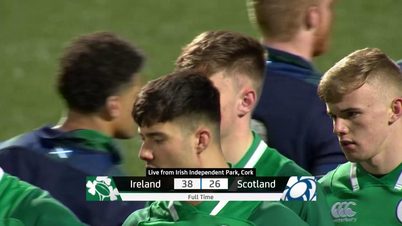 Highlights Ireland U20 V Scotland U20 Youtube