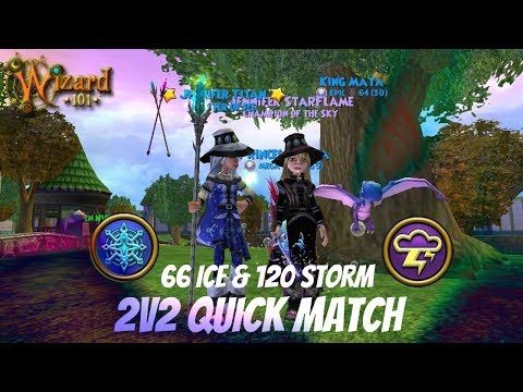 Wizard101 UK: 2v2 Quick Match - Legendary Ice & Champion Storm