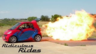World's First Jet-Powered Smart Car | RIDICULOUS RIDES