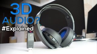 What is 3D AUDIO? Explained with PS4 Wireless Platinum Headset - Unbox & Review #05