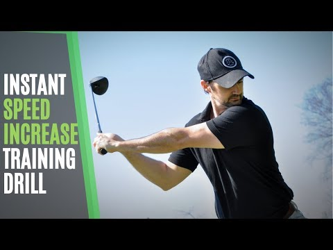 Increase Golf Swing Speed Training Drill – Fire the Fast Twitch