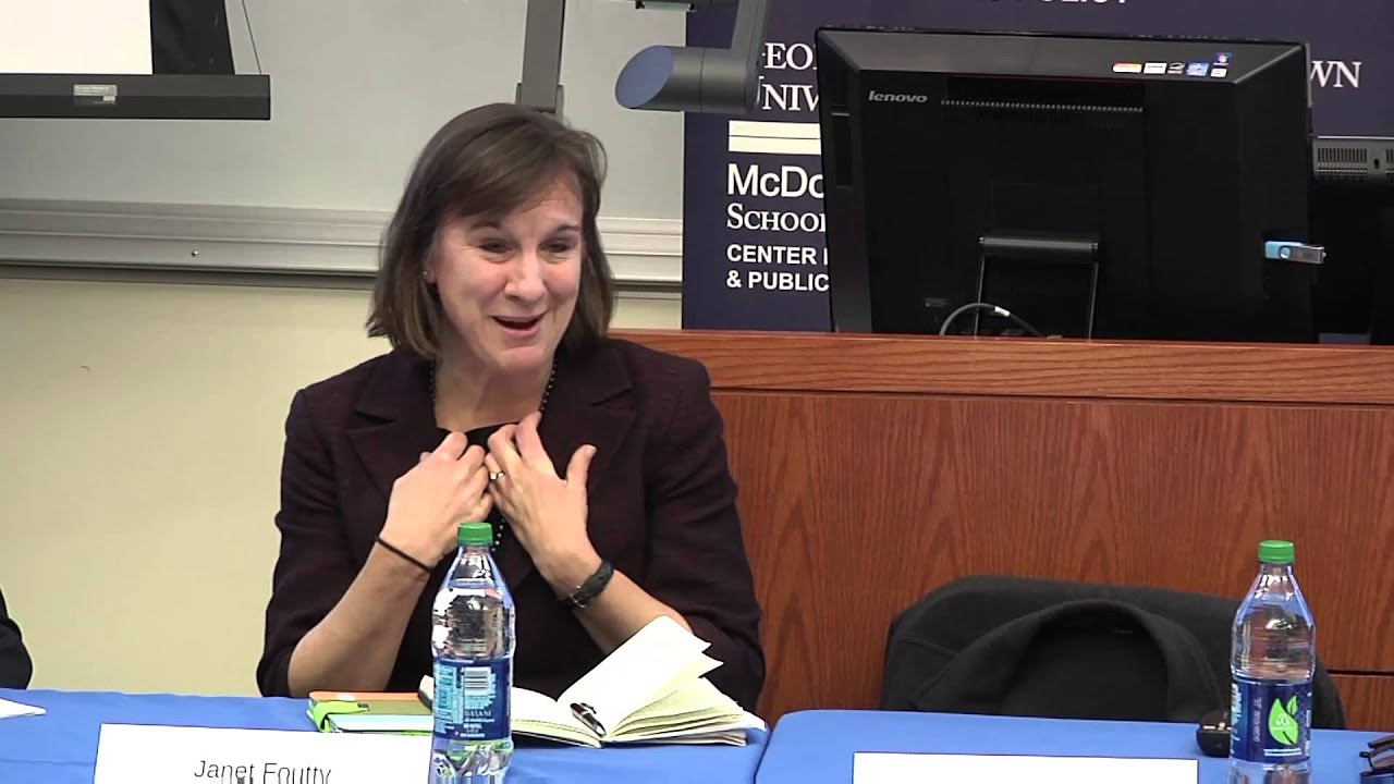 Janet Foutty at  The Center for Business and Public Policy