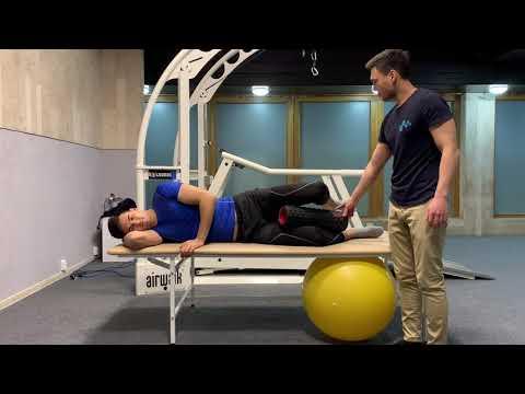 Комплекс упражнений при тотальном эндопротезировании тазобедренного сустава