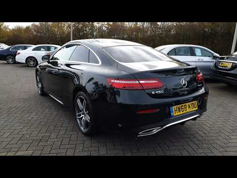 Mercedes-Benz E450 4Matic AMG Line Premium Plus Coupe - HW68KDU - NOW SOLD