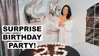 MY SURPRISE 25TH BIRTHDAY PARTY VLOG Marie Jay