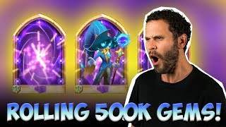 500,000 Gems For COSMO Triple Legend ROLL WILD Session Castle Clash