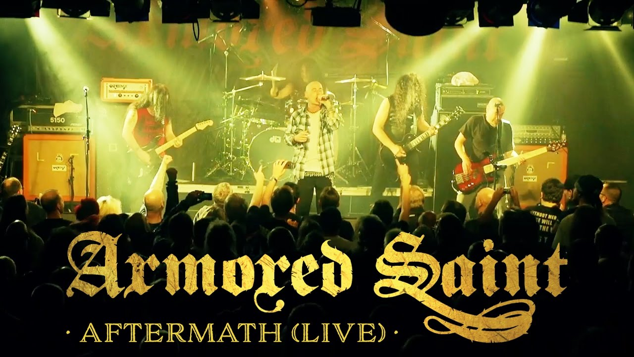 Armored Saint - Aftermath  OFFICIAL LIVE VIDEO