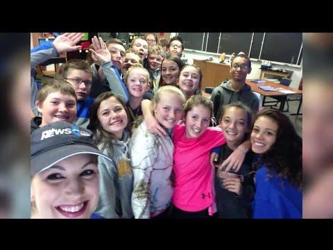 Storm Safe visits Custer Middle School