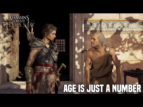 Assassins Creed Odyssey  Age is Just A Number Side Quest Auxesia Romance