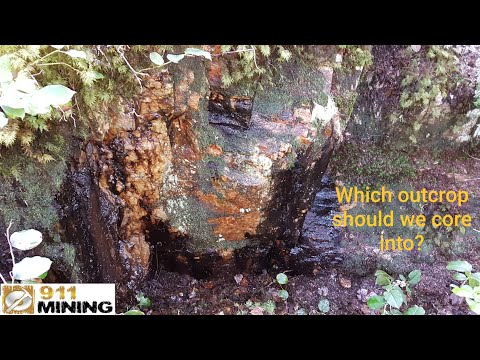 Which Mineralized Outcrop Should We Core Into? Plus Gold Giveaway!